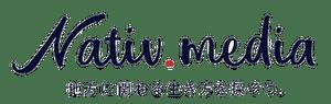 Nativ.media | 地方移住・関係人口創出のプラットフォーム ロゴ